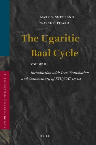 The Ugaritic Baal Cycle (Supplements to Vetus Testamentum) by Mark S. Smith (2009-02-28) (Ugaritic Baal Cycle compare prices)