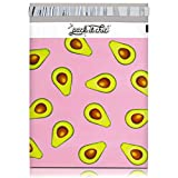 """Pack It Chic - 10"""" X 13"""" (100 Pack) California Avocados Poly Mailer Envelope Plastic Custom Mailing & Shipping Bags - Self Seal (More Designs Available)"""