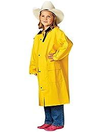 M+F Western Products Boys Kids Saddle Slicker M Yellow