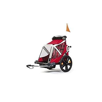 BELLELLI - 63006/213 : Remolque carrito para 2 niños con freno: Amazon.es: Coche y moto
