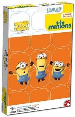Top Trumps Mini Juego de Cartas de Minions (Contenido en inglés): Amazon.es: Juguetes y juegos