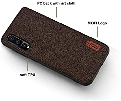 MOFI Huawei P20 Pro Case, Fabric Brown: Amazon com: TOEON
