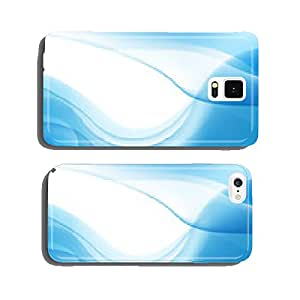 vector abstract blue wavy water background, wallpaper cell phone cover case iPhone6