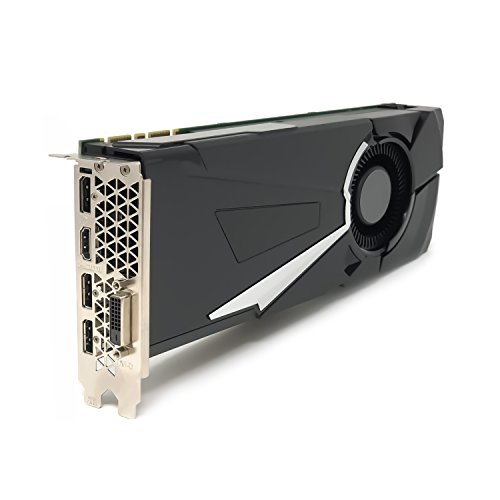 NVIDIA Geforce GTX 1080 8GB GDDR5X Micron PCI Express 3.0 Gaming Graphics Card, 256 Bit Bus Width, 320.3 GB/s Bandwidth, 102.8 GPixel/s, 257.1 GTexel/s, GPU Clock 1607 MHz up to (Nvidia Drivers)