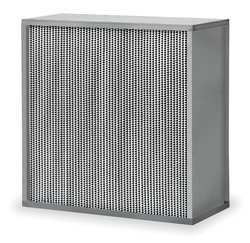 HEPA Air Filter, 23-3/8x11-1/2x23-3/8 In