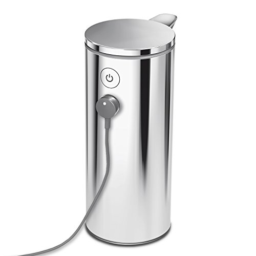 simplehuman 9 oz Sensor Pump, Polished Stainless Steel by simplehuman (Image #5)