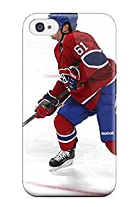 Snap-on Case Designed For Iphone 4/4s- Montreal Canadiens (44)
