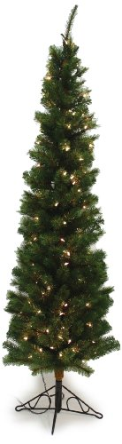 Christmas Tidings Good Tree (Special Happy Corp LTD 96309 Slim Aspen Pine Tree, 6-Foot)