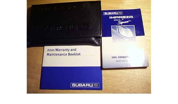 2001 subaru outback service manual