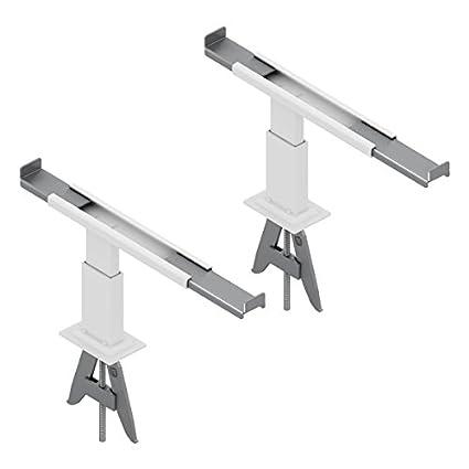 QX3 Par de ganchos del radiador para crear nuevos puntos de soporte, ideal para estantes