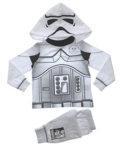 Lora Dora Little Boys' Fancy Dress Up Play Costumes Pyjamas Set Buzz Lightyear 3-4 Years Storm Trooper Dress (Buzz Lightyear Dressing Up Costume)