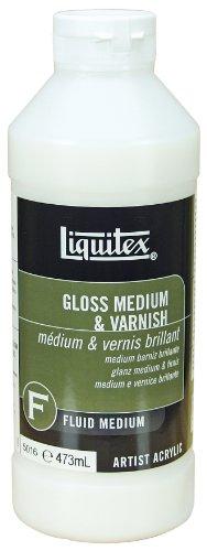 Liquitex Professional Gloss Fluid Medium & Varnish, (Liquitex Basics Series)