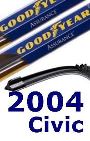 2004 Honda Civic Recambio parabrisas limpiaparabrisas (2 cuchillas): Amazon.es: Coche y moto