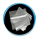 Peal & Seal Resealable Plastic OPP Wrap for Slim 5.2mm Jewel Cases - 1000 Bags