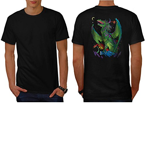 [Dragon Battle Of Rage Deadly Men NEW M T-shirt Back | Wellcoda] (Chinese Dragon Parade Costume)