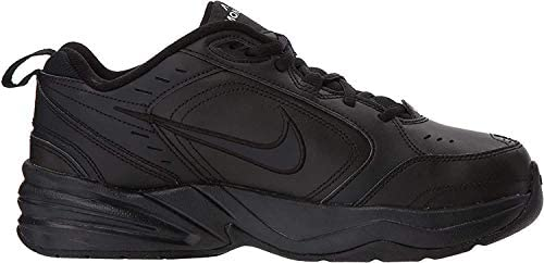 414Jwqsr DL. AC Nike Men's Air Monarch IV Cross Trainer    Men's Nike Air Monarch IV Training Shoe sets you up for comfortable training with durable leather on top for support. A lightweight foam midsole with a full-length encapsulated Air-Sole unit cushions every stride in the Nike men's shoe.