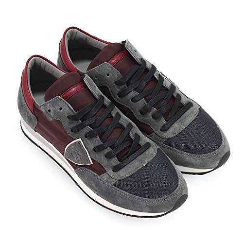 Philippe 2019 Wine Shoes Gray Inverno Model Autunno Tropez Mondial Uomo Sneakers wHAawZqC