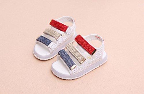 IGEMY - Sandalias de vestir de Pu para niña blanco