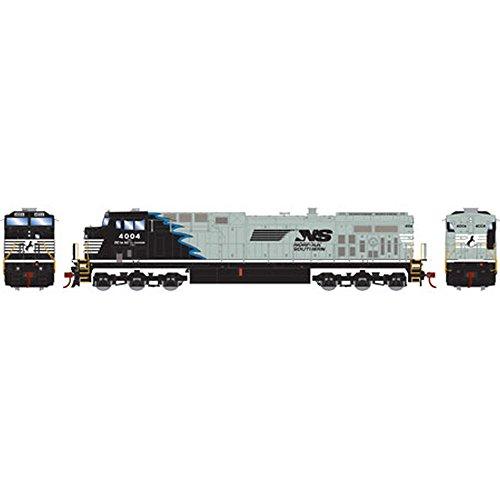 (Athearn HO AC4400CW NS Black & Gray w Blue Stripe #4004)