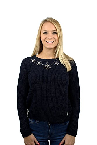 Superdry pour femme New Pétale col rond bleu marine