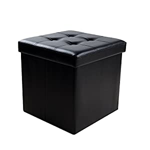 Sable Storage Ottoman Cube Foldable Bench