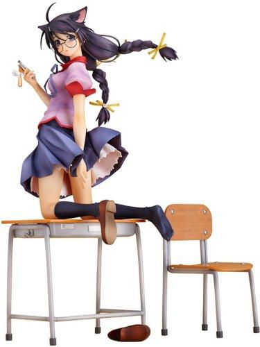 - Good Smile Bakemonogatari: Tsubasa Hanekawa PVC Figure (1:8 Scale)