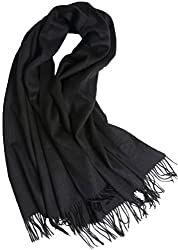 Cashmere Stole Scarf Shawl Wrap 100 Cashmere Gorgeous And Natural Model K0101 Black