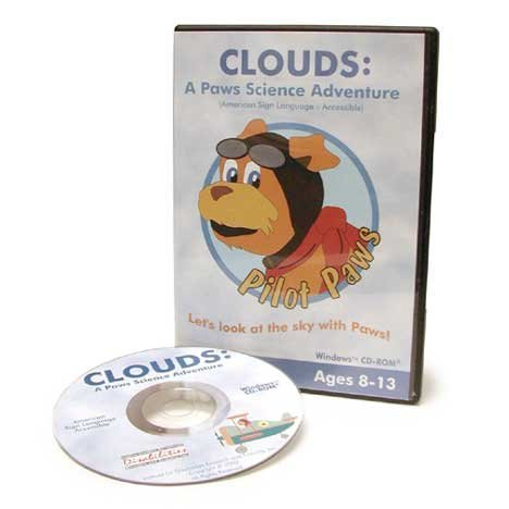 Clouds: A Paws Science Adventure/ASL by Institute for Disabilities Research and Training, Inc.