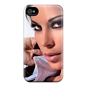 High Quality NsdkCSu3389xBeUX Aida Yespika Brunette Charming Model Face Eyes Tpu Case For Iphone 4/4s