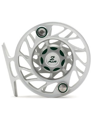 ハッチングGen 2 Finatic 2 Plus Fly Reel、クリア/グリーン、Large Arbor   B076TMMW41