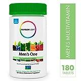 Rainbow Light Men's One Non-GMO Multivitamin Bonus Size - Plus Superfoods, Probiotics,