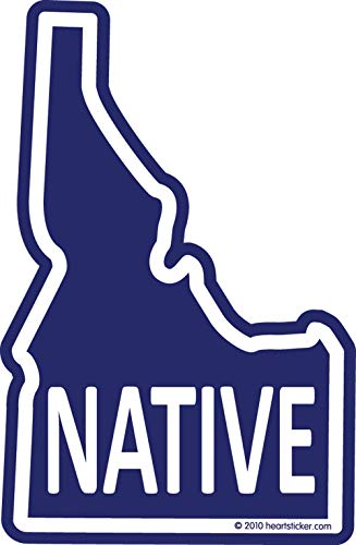 Used, Native Idaho Sticker Vinyl Decal Label Stickers, Die-Cut for sale  Delivered anywhere in USA