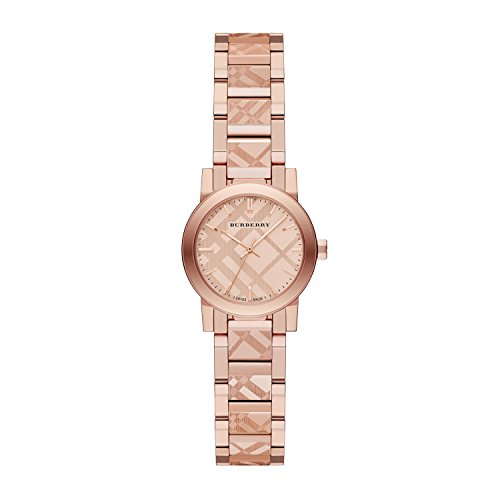 Burberry BU9235 26mm Gold Plated Stainless Steel Case Rose Gold Gold Plated Stainless Steel Synthetic Sapphire Women's - Collection Burberry