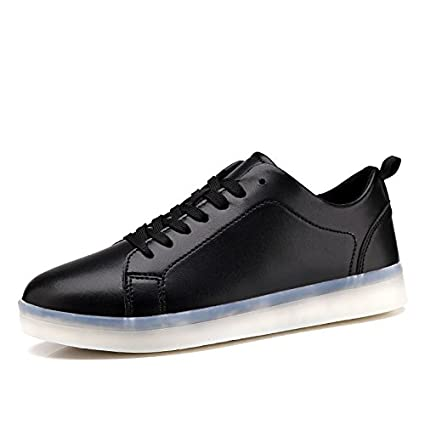 303db972 Hasag Zapatos Blancos Casuales Pareja Zapatos Ligeros Casuales Zapatos  Fluorescentes LED USB Zapatos Blancos Luminosos Zapatos