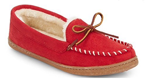 saks-fifth-avenue-stiched-faux-fur-linded-moccasins-red-large-95-105