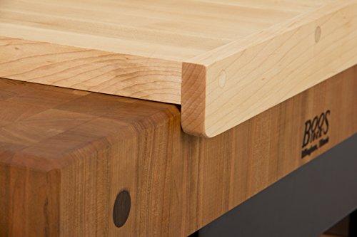 Countertop Edge Cutting Board : John Boos Countertop Reversible Edge Grain Cutting Board with Gravy ...