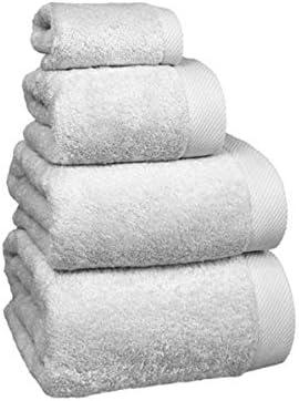 Medida tocador 30 x 50 cm. Muy absorvente y Suave COTTONREUS Toalla Cottonplus 30/% Bamb/ú y 70/% Algod/ón de 600 grms Color Blanco