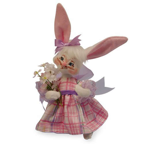 Annalee - 6in Easter Parade Girl Bunny ()