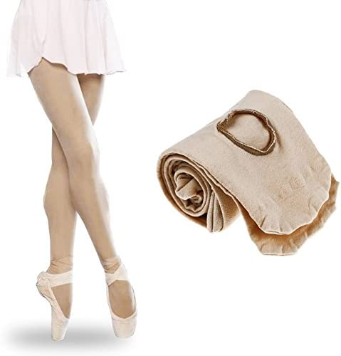 26ca87dd39cbf ShenYo l Nude Ladies Ballet Tights New Ballet Dance Tights Footed Seamless  Dancewear for Childrens Girls and WomenLNude: Amazon.in: Clothing &  Accessories