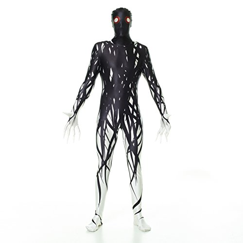 Morphsuits Zalgo Kids Monster Urban Legend Costume - Large