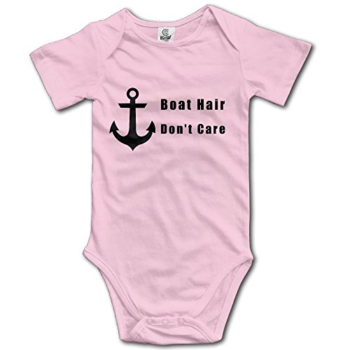 Boat Hair, Don T Care Baby Boys Short Sleeves Climbing Clothes For 0-24m Baby