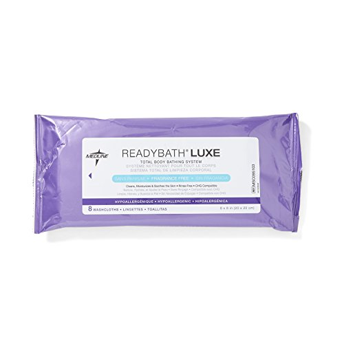 Medline ReadyBath Unscented Cleansing Cloths
