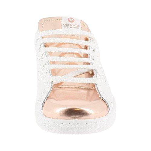 Victoria - Zapatillas de Deporte de Otra Piel Mujer Rose