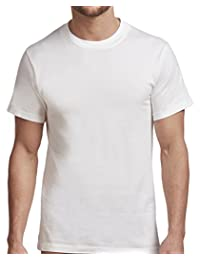Stanfield's Men's Cotton Crew Neck Undershirt (2 Pack)