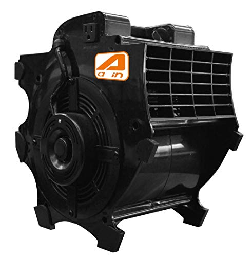 AAIN High Velocity Blower Fan,Industrial Air Mover,Utility ElectrIc Carpet Dryer Ideal for Wet Carpets, Floors,Walls & Ceilings- 3-speed,300 CFM,1/4 HP