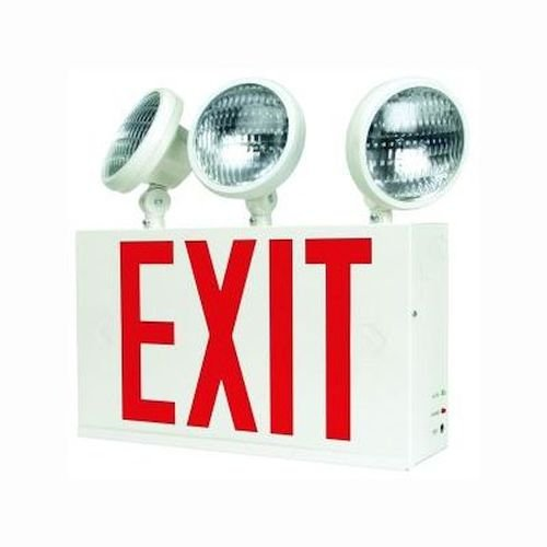 Ciata Lighting New York City Approved LED Exit Sign & Emergency Light Combo