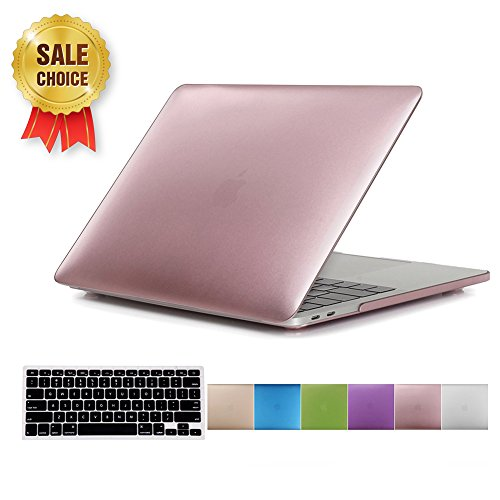 MacBook Pro(Released in 2016)13-inch Case,Soundmae 2in1 Ultra Slim Metallic Matte Hard Protector Case Snap Protective Cover + Keyboard Skin for Macbook Pro 13.3