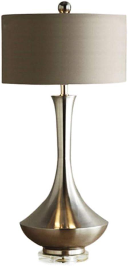 GYJ Lámparas de Mesa Modernas de Metal, lámpara Tradicional para ...
