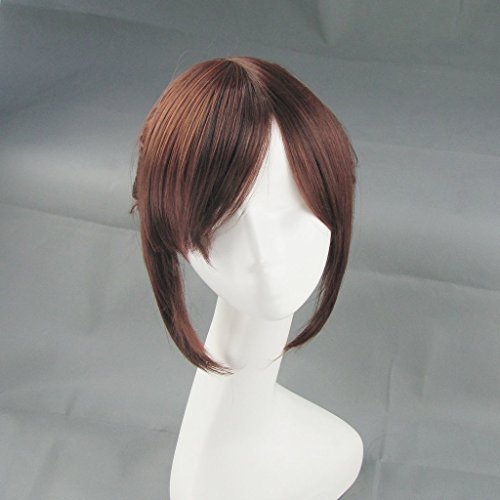Sunny-business Anime Attack on Titan Sasha Brown Ponytail Hair Cosplay Wig - Aot Sasha Costume