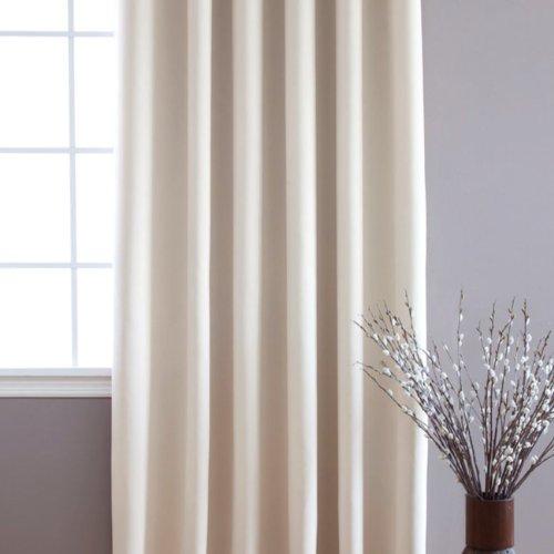 Beige Wide Width Grommet Top Thermal Blackout Curtain 100w X 84l 1 Panel Bww Ebay